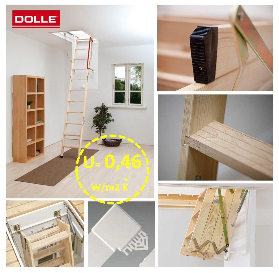 ultra energiesparende treppe bodentreppe. Black Bedroom Furniture Sets. Home Design Ideas