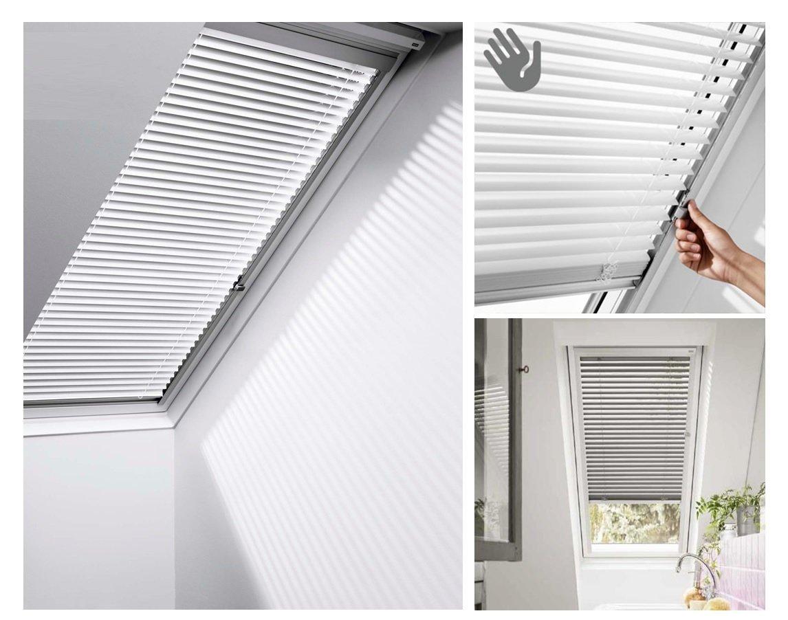 jalousien velux pal standard jalousie velux innenzubeh r zubeh r f r dachfenster. Black Bedroom Furniture Sets. Home Design Ideas