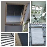 Außenrollo Okpol Außenrollladen ARZS Rollladen mit Solarbatterien