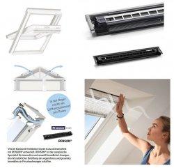 VELUX Balanced Ventilation ZZZ 214K Für Schwingfenster GGU/GGL ZZZ 214K G_0 Lüftungslösung