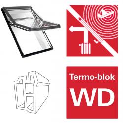 Dachfenster Roto Designo R66E K Schwingfenster aus Kunststoff acusticLine NE Plus mit Wärmedämmblock