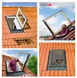 Ausstiegsfenster Fakro FWL /FWR U3 Dachausstiegsfenster - Ausstiegsfenster - Dachausstieg - Dachluke - Dachfenster