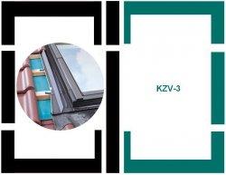 Eindeckrahmen Fakro KZV-3-P Modul für die Kombination übereinander für hochprofilierte Eindeckmaterialien