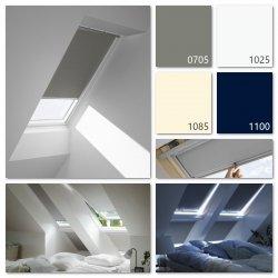 Verdunkelungsrollo Velux DKL Manuell Standard Farbe: 0705S 1025S 1085S 1100S