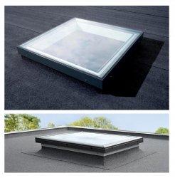Festverglastes flachdach fenster flachdach fenster for Fenster 60x90