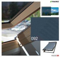 Hitzeschutz Markise Manuell Netzmarkisen Fakro AMZ II gruppe: 92 farbe, Anti-Hitze-Markise für FAKRO Dachfenster