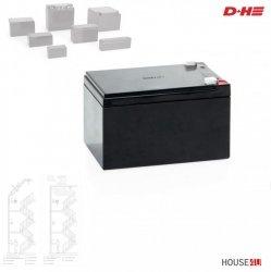Akku Typ 4 D+H für D+H RWA-Zentralen  12 Ah