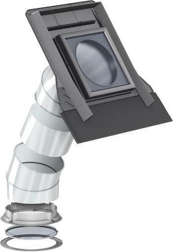 OUTLET: Tageslicht-Spot Velux TWR 2010 0K10 mit Starres Rohr Versand 48h