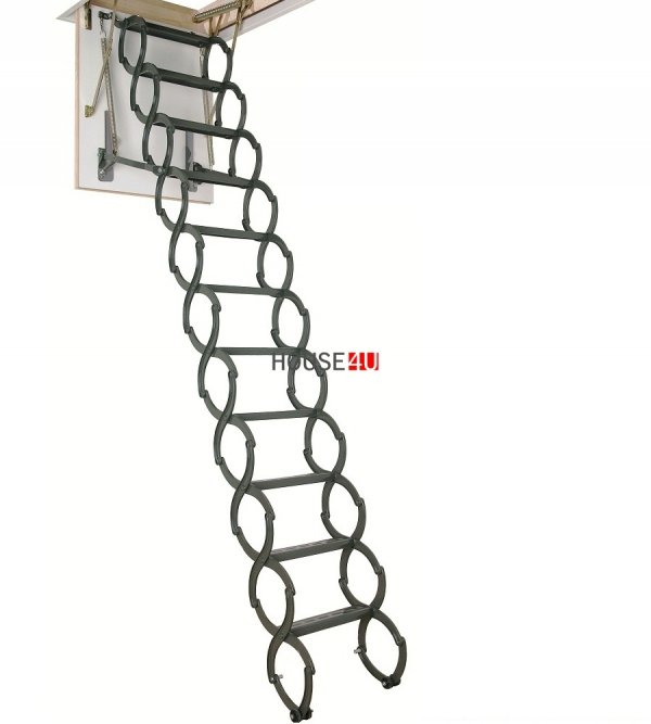 OUTLET: Bodentreppen LST 60X90 FAKRO Scherentreppe U=1,1 W/m²K  Versand 48h