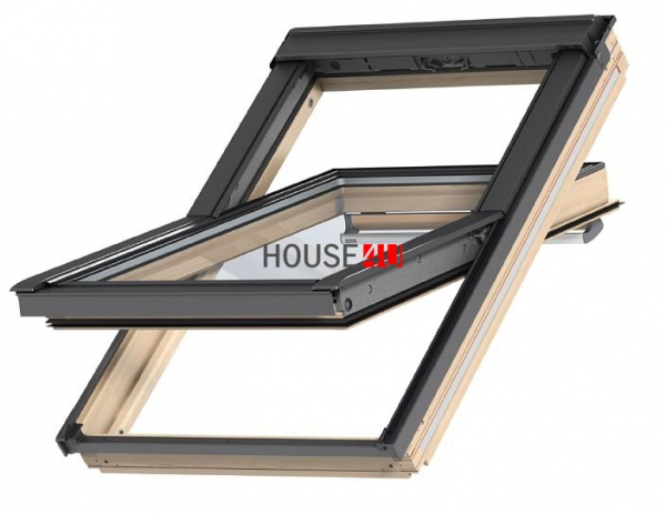 VELUX Dachfenster Schwingfenster GGL 3066 ENERGY-STAR Holz klar lackiert www.house-4u.de