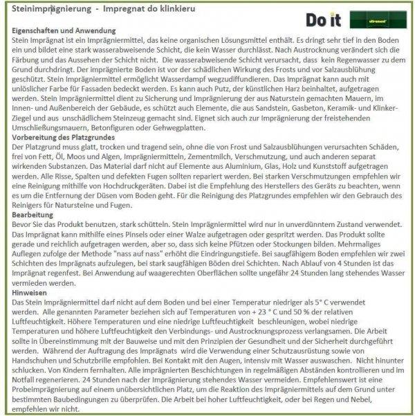 Öl für Klinker Ultrament 2L www.house-4u.eu