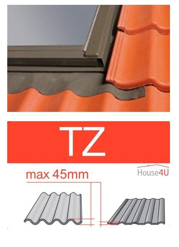 Eindeckrahmen Optilight TZ-D Eindeckrahmen - für profilierte Eindeckmaterialien / Profilbeläge bis zu 4,5 cm hoch Profil - nur für Optilight D-PRO U4