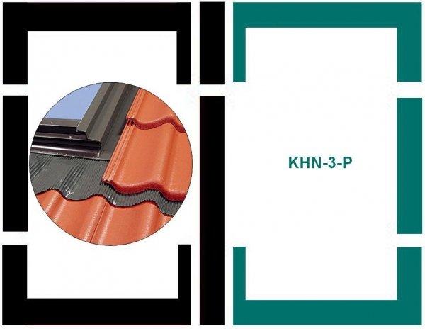 Eindeckrahmen Fakro KHN-3-P Modul für die Kombination übereinander für hochprofilierte Eindeckmaterialien www.house-4u.eu