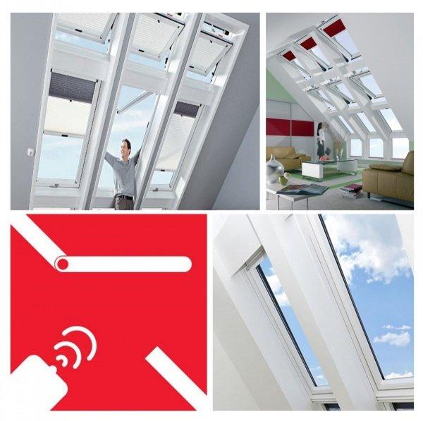 Dachfenster Elektrofenster Roto Designo WDT R45 K WD E_ RotoTronic Kunststoff Automatische Fenstern 2-fach Verglasung