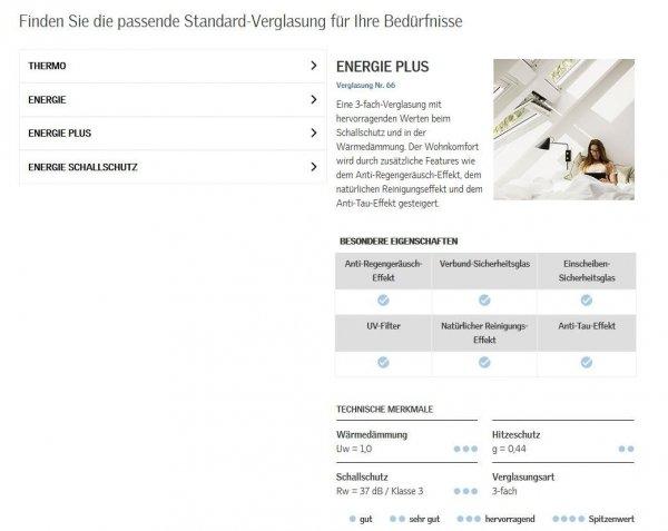 VELUX GDL Dachbalkon Cabrio 3066 Holz/Kiefer Holz klar lackiert  ENERGIE PLUS, MK19, PK19, SK19 www.house-4u.de