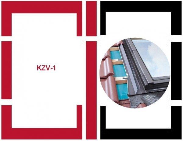 Eindeckrahmen Fakro KZV-1-P Modul für die Kombination übereinander für hochprofilierte Eindeckmaterialien www.house-4u.eu