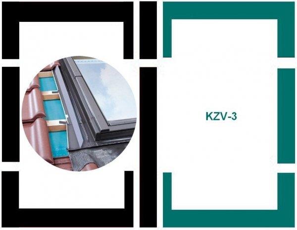 Eindeckrahmen Fakro KZV-3-P Modul für die Kombination übereinander für hochprofilierte Eindeckmaterialien www.house-4u.eu