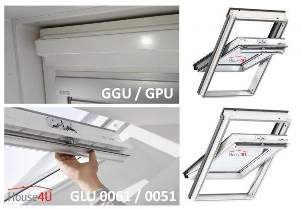 """VELUX INTEGRA® Dachfenster Solarfenster GLU 1051 satz - """"Mach es selbst"""" - Schwingfenster – Solar Automatische Fenstern - satz DIY - GLU / EDZ / KSX 100K  Solar-Nachrüst-Set - io-homecontrol System"""