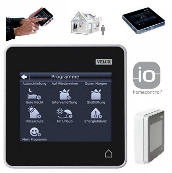 VELUX INTEGRA® KLR 200 Control Padsystem io-homecontrol® - Intelligentes Zubehör fur VELUX Produkten