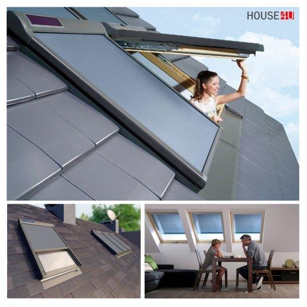 Fakro Elektrische Netzmarkisen  AMZ Solar www.house-4u.de