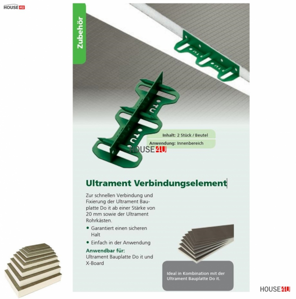 Verbindungselement Ultrament Do-it www.house-4u.eu