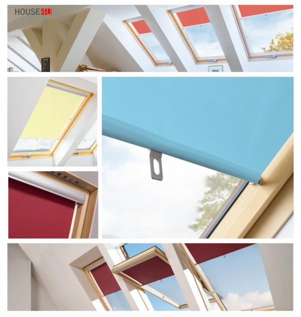 Rollo ARS Fakro Zubehör für FAKRO Dachfenster Sichtschutz Rollo II PREISGRUPPE