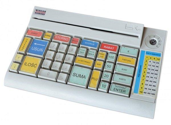 Klawiatura Wincor Nixdorf TA61-2 z czytnikiem kart magnetycznych MSR-H7B (używana)