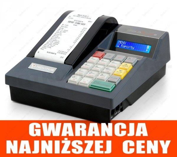 Kasa fiskalna Novitus Mała Plus E + serwis GRATIS