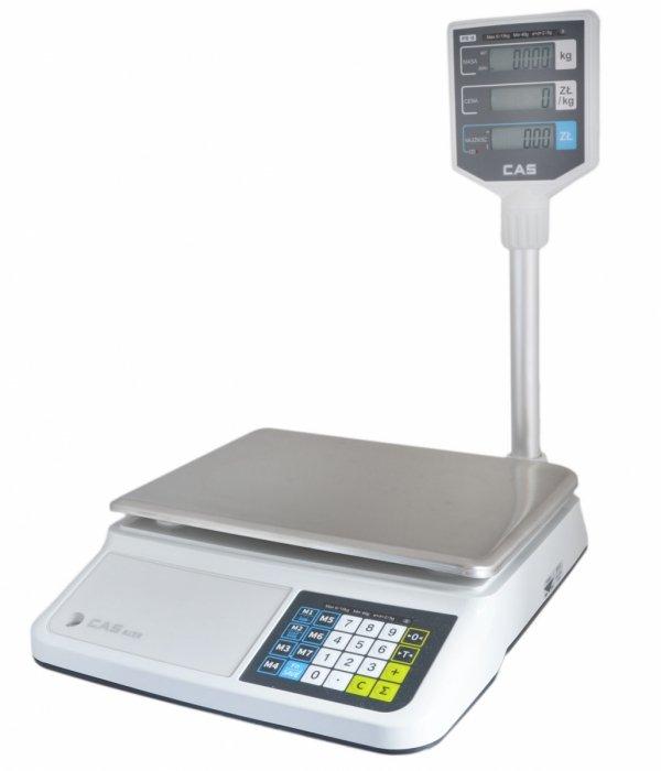 OUTLET Waga CAS PR-II (PR-2) 15P USB