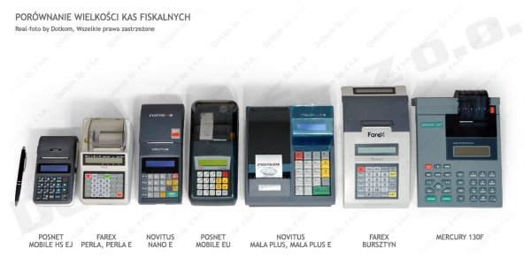 Kasa fiskalna Novitus Mała Plus + serwis GRATIS