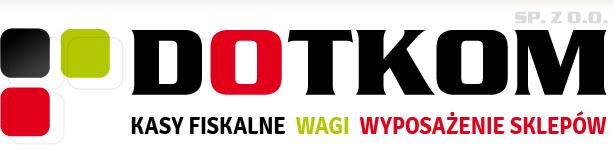 Strona główna - Sklep i serwis DOTKOM Sp. z o.o. - drukarki i kasy fiskalne, czytniki kodów kreskowych, wagi sklepowe, wyposażenie sklepów