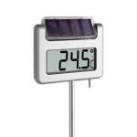 Termometr ogrodowy TFA 30.2026 AVENUE elektroniczny z zegarem podświetlany duży 115 cm