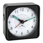 TFA 60.1510 budzik biurkowy zegarek wskazówkowy płynąca wskazówka sterowany radiowo