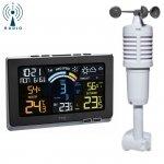 Stacja pogody bezprzewodowa TFA 35.1140 SPRING BREEZE czujnik wiatru kolorowy wyświetlacz