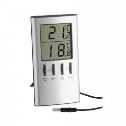 TFA 30.1027 termometr elektroniczny z zewnętrznym czujnikiem przewodowym