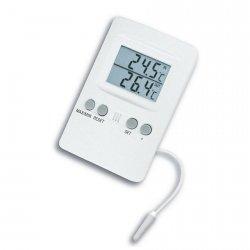TFA 30.1024 termometr elektroniczny z zewnętrznym czujnikiem przewodowym - ZE ZWROTU