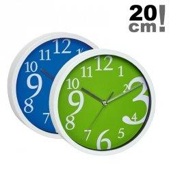 Zegar ścienny TFA 60.3034 wskazówkowy płynąca wskazówka średnica 20 cm