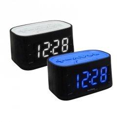 Budzik biurkowy TechnoLine WT 465 zegar elektroniczny z radiem