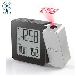 Budzik biurkowy Oregon RM338 zegar z projektorem i termometrem
