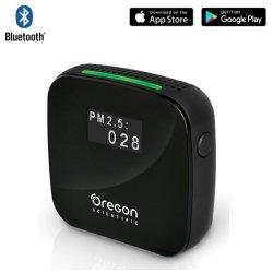 Czujnik zanieczyszczenia powietrza Oregon SHE101 detektor pyłu zawieszonego PM1.0, PM2.5, PM10 z termohigrometrem
