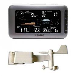 Ventus W266 stacja pogody bezprzewodowa zewnętrzna UV detektor wyładowań