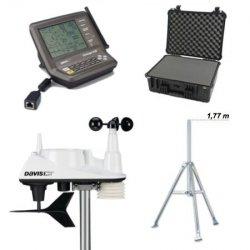 Stacja meteorologiczna bezprzewodowa Davis Vantage Vue półprofesjonalna - zestaw mobilny USB