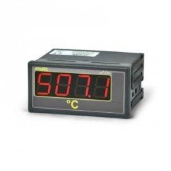 Miernik temperatury APAR AR507 wyświetlacz 20 mm tablicowy 96 x 48 mm