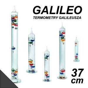 TFA 18.1015 GALILEO termometr Galileusza 37 cm duży 6 czarnych kulek REKLAMOWY