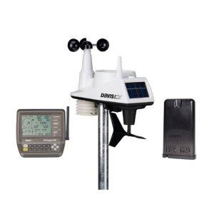 Davis Vantage Vue stacja meteorologiczna bezprzewodowa półprofesjonalna on-line z konsolą LCD