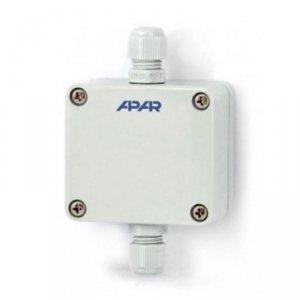 APAR AR550 moduł pomiarowy temperatury termometr przemysłowy wejście uniwersalne wyjście analogowe