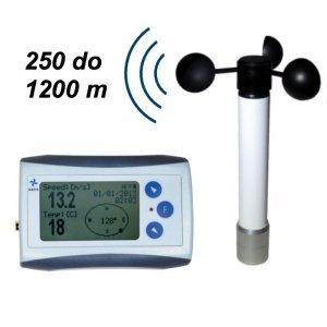 Rejestrator prędkości wiatru Navis WL11/WS anemometr bezprzewodowy z termometrem - OUTLET