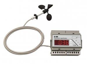 A-Ster A-144 wiatromierz sygnalizacyjny anemometr moduł alarmowy wiatru