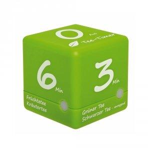TFA 38.2035 CUBE-TIMER minutnik elektroniczny 3-4-5-6 min do parzenia herbaty