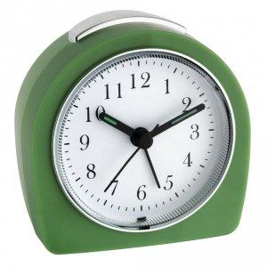 TFA 60.1021 budzik biurkowy zegar wskazówkowy płynąca wskazówka - ZE ZWROTU